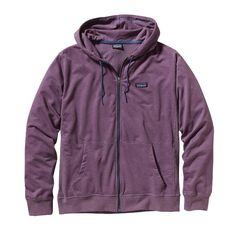 Patagonia Men\'s Lightweight Full-Zip Hoody - Tyrian Purple TRP