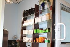 Kaemark tall shelving units