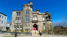 Caverhill Hall - Saint John - built late 1880s - Caverhill Hall is designated a Local Historic Place for its architecture and its association with its former occupants, and is also recognized for having hosted the Duke and Duchess of Cornwall and York and the Prince of Wales in 1901. The Prince of Wales later became King George V. For many years, the home was described as the finest residence in New Brunswick and possibly the finest in the Maritime provinces