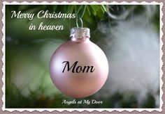 Looking for a super simple, festive and frugal Christmas decorating idea? Keep reading to learn my festive and frugal Christmas decorating secret! Miss You Mum, I Love You Mom, Mom And Dad, Mom Daughter, Daughter Quotes, Daughters, Frugal Christmas, Christmas Mom, Christmas Bulbs