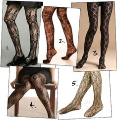 I have a pair of lace leggings, but i have no idea what to wear them with.so their sitting in the closet. Lace Leggings, Lace Tights, Patterned Tights, Fashion Show, Fashion Design, Winter Wardrobe, Playing Dress Up, Passion For Fashion, Winter Outfits
