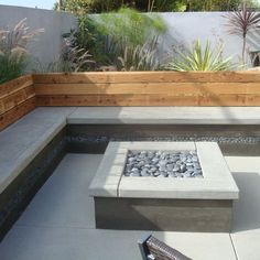 how to make a pebbled rock outdoor patio - Google Search