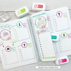 April Canvo Layout with yet another fun and useful dashboard 🤗 📔🌷 Bullet Journal Daily Spread, Bullet Journal 2019, Bullet Journal Notes, Bullet Journal Lettering Ideas, Bullet Journal Aesthetic, Bullet Journal Writing, Bullet Journal School, Bullet Journal Layout, Bullet Journal Ideas Pages
