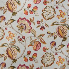 The G1526 Natural upholstery fabric by KOVI Fabrics features Floral, Foliage pattern and Orange as its colors. It is a Cotton, Made in USA, Print type of upholstery fabric and it is made of 89% Cotton, 11% Rayon material. It is rated Exceeds 15,000 double rubs (heavy duty) which makes this upholstery fabric ideal for residential, commercial and hospitality upholstery projects. This upholstery fabric is 54 inches wide and is sold by the yard in 0.25 yard increments or by the roll. Call or…