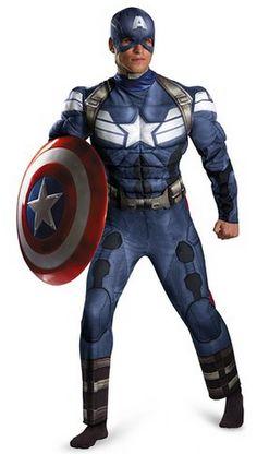 #CaptainAmerica #Musclechestcostume #Marvel #fancydress #cosplay #superheroes