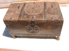 Medieval Celtic Chest 13th 14th Century | eBay