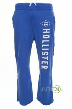 Hollister modré tepláky