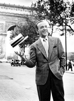 Fred Astaire photographed by Richard Avedon, Paris, 1956