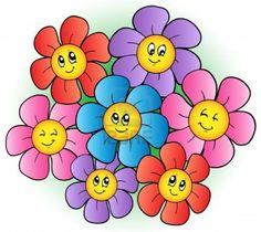 flor com formas geometricas - Pesquisa Google