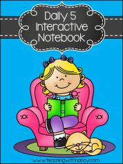 Free: Daily 5 Interactive Notebook Templates All the templates you need to launch your Daily 5 Readying Workshop! Perfect for (K-2)