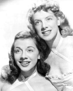 Rosemary Clooney & sister Betty / singer