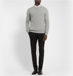 Exemplaire - Knitted Cashmere Crew Neck Sweater|MR PORTER