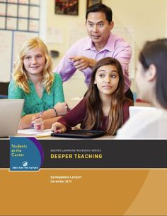 FREE TEACHER RESOURCE:  Deeper Teaching