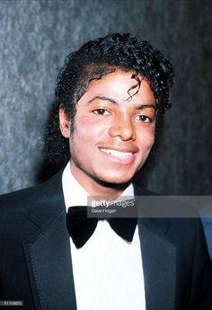 Singer Michael Jackson in 1983 in London.