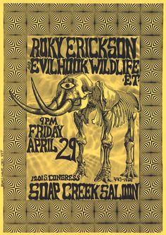 Roky Erickson and Evil Hook Wildlife Et.