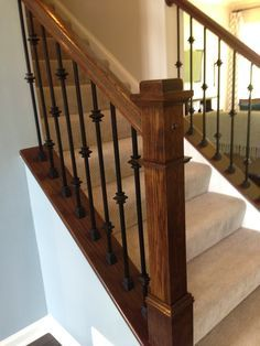 Iron Stair Railing With Knuckles Google Search Baers Banisters Wrought