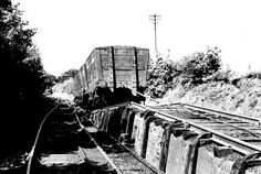 Empty wagons approach the 'Kip' at the top of No 2 incline. The descending loaded wagons used the tracks on either side. North East England, Sunderland, Historical Photos, Pop Up, Past, Durham, Places, Empty, Trains