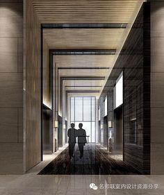 기둥, 벽, 천장이 맞닿는 부분에 간접조명 설치 >>> 경계 속까지 계속되는 느낌