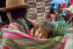 https://flic.kr/p/4irLp | Mother and child in Peru | Taken at Pisac Indian market near Cusco in Peru with Minolta XLR-370 35mm SLR
