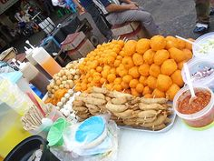 Battered Eggs. Philippine cuisine - Street food