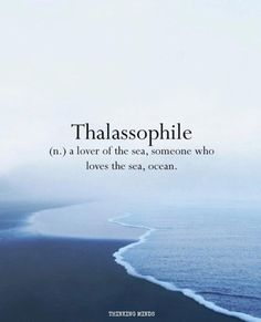 . #sea #love #word