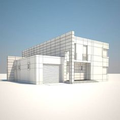 House – free 3D model ready for CG projects. Available formats: Autodesk FBX (.fbx), OBJ (.obj), 3D Studio Max (.max)