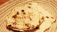 Chapati - no yeast, wholemeal flour