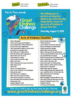 Great Kindness Challenge Pledge - Kids can get their school involved in the Great Kindness Challenge! Lauren B Montana Counseling Activities, Book Activities, Kindness Projects, Kindness Ideas, Teaching Kindness, Kindness Challenge, Character Education, Character Development, School Counselor