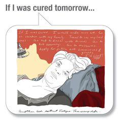 "People with #ME/#CFS answer the question: ""What would you do if you were cured tomorrow?"" #MEcfs #CFIDS #PwME #CFSME"