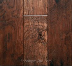 This is Flooring My Life Character Hickory Don Pedro. What do you think? #hardwood #flooring