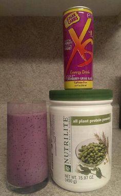 XS & Nutrilite All Plant Protein Powder: www.amway.com/thomashaynes