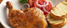 A trio of Cuban favorites--lime, garlic, and cumin--flavors this chicken, cooked…