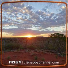 Incredible sunset over Kata-Tjuta, Northern Territory, Australia