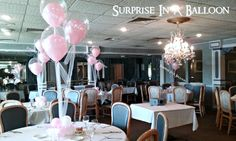 #elegant stuff balloons with tulle #surprise in a balloon #elkhart  indiana