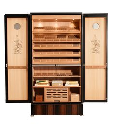 Electronic Cigar Humidor Shop Digital Control Humidor