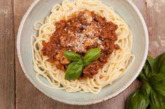 Spaghetti a la Bolognesa Express.