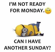 Can I have another Sunday?