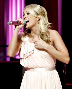 Carrie Underwood performs at the Grand Ole Opry in Nashville, Tenn., on Oct. 2, 2009.