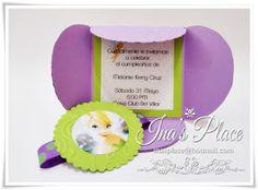Ina's Place Invitations & Party Supplies: Magic & Fairy Dust - Invitaciones Tinkerbell.