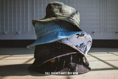 KIX & LIDZ: Palace, HUF, 10.DEEP - BUCKET HATS...Now available at the shops is a great selection of bucket hats from your favourite brands like Palace, HUF, 10 Deep and more. Check out all the new fall accessories in store and online now - FALL BUCKET HATS