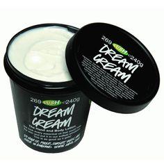lush dream cream 3.5 oz