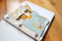 Back to School ~ Binder Pouch Tutorial « Sew,Mama,Sew! Blog