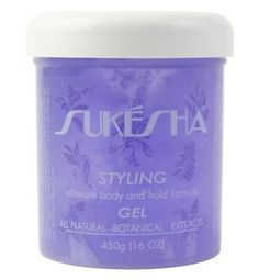 Sukesha Styling Gel is an all natural product that creates body and shine!