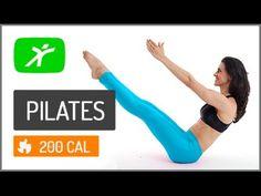 Aula de Pilates em Casa - Melhore sua Postura e Alongamento #3 Intermedi...