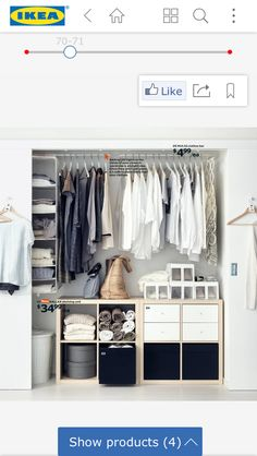 Interior Design | Residential | Closets | Clothes Organization