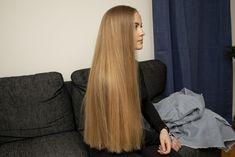 Gorgeous Hair Color, Beautiful Long Hair, Hip Length Hair, Perfect Blonde Hair, Forced Haircut, Long Brown Hair, Alternative Hair, Hair Color Shades, Super Long Hair
