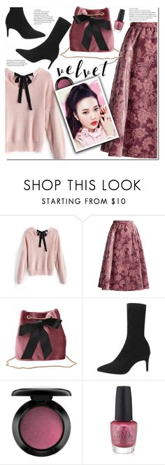 """Crushing on Velvet"" by duma-duma ❤ liked on Polyvore featuring Erdem, John Lewis, Etude House, OPI and velvet"