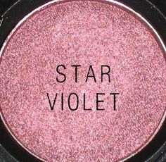 MUST HAVE MAC SHADOW: Star violet is gorgeous! Shows up a little bit darker than this picture shows. This is perfect for you brown eyed girls!