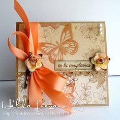 Hilda Designs: Tarjeta con Gift Card, sello deDilo en Español