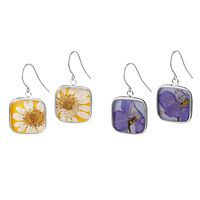 BIRTH MONTH FLOWER EARRINGS| UncommonGoods: One of my favorite jewlery artists .. bet you cant guess why! :p